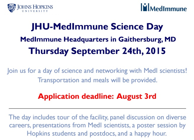 JHUMEDIMMUNE science day